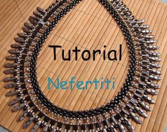 Tutorial Nefertiti SuperDuo&Tila Necklace PDF