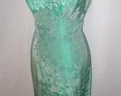 On hold for a few days Fantastic 50s mint green shelfbust dress comes with matching coat XS/S