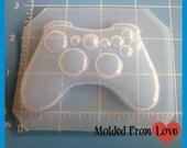 Video Game Controller No. 2  Flexible Plastic Handmade Resin Mold