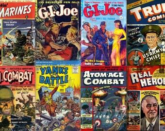 WAR HEROES Comics DVD (Vol 2) Golden Age - G I Joe Fightin' Marines True Heroes