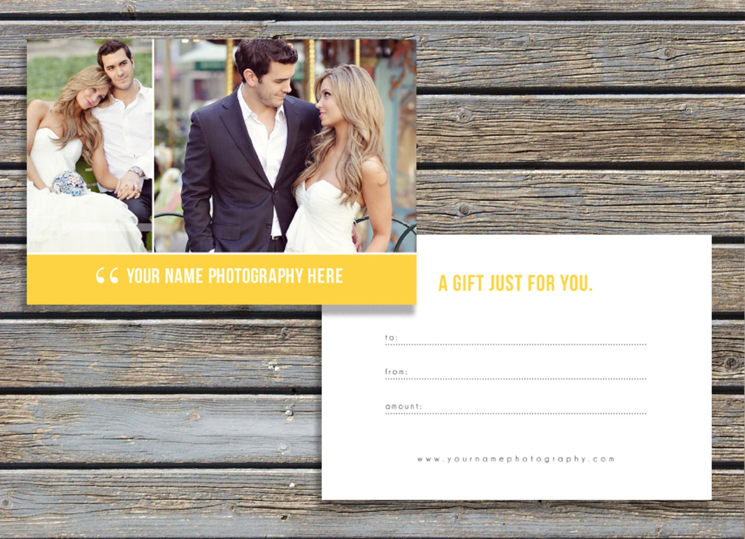 INSTANT DOWNLOAD SALE Photography Gift Certificate Template – Photography Gift Certificate Template