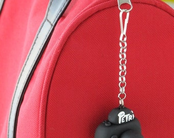 Personalized Camera Charm, Polymer Clay, DSLR Purse Charm, Back to school, Zipper Pull, Camera Bag Charm, Zipper Pull, Photographers Charm