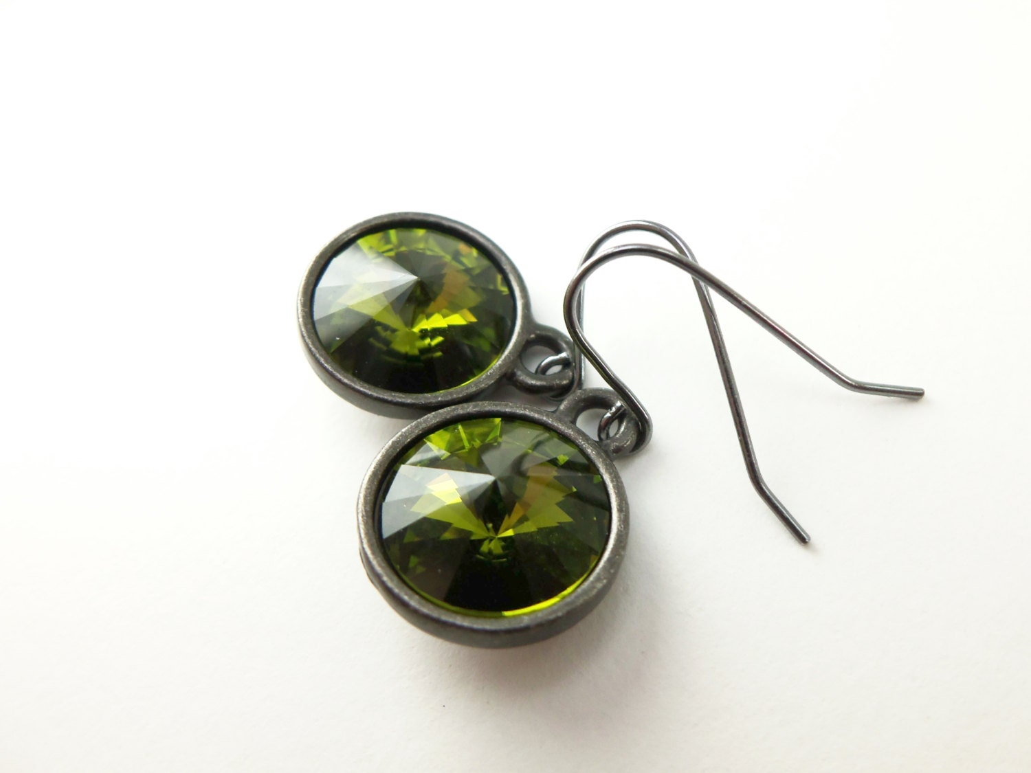 Drop Earrings Green Beautify Themselves With Earrings