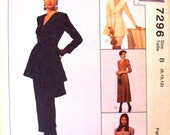 mccalls sew news pattern 7296 - misses dress in two lengths, top and skirt in two lengths - (1994) - UNCUT