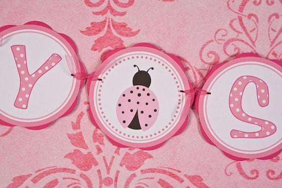 ladybug baby shower banner ladybug baby shower decorations