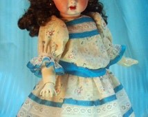 Bleuette pattern for doll clothing - LSDS 1905 Dress and 1905 Paletot mi-Cintre, patterns for dress and matching jacket
