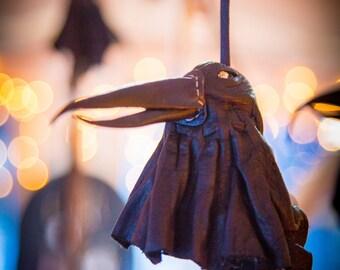 Handmade Leather Medicine Birds