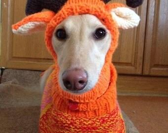 Greyhound Coat Knitting Pattern Free UK Postage