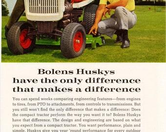 1968 Bolens Lawnmower Ad