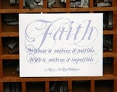 Faith Charitable Notecard (Set of 6 cards)