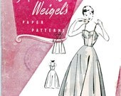 50s Full skirt petticoat Pattern Weigels 1409 Vintage Sewing Pattern Bust 36 Inches UNUSED Factory Folds