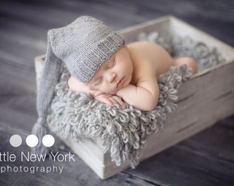 20% off SALE   Newborn photo prop,newborn hat, newborn boy,newborn girl, knit newborn hat, newborn props, newborn elf hat. Choose your color