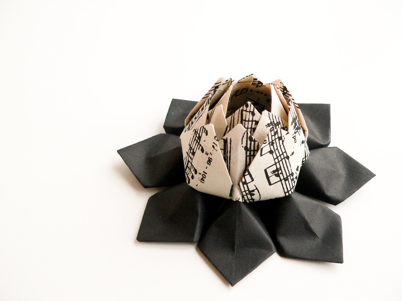 Origami Music Note Paper