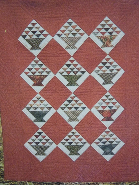 Scrap Basket Quilt Pattern UnCut by BonniesVintageAttic on Etsy