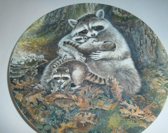 A Protective Embrace - Collectible Plate - Edwin Knowles