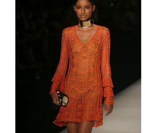 Podium Crochet Dress Made To Order