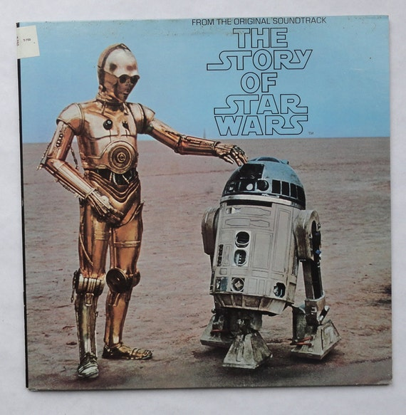 "Rare ""The Story of Star Wars"" Vinyl Soundtrack (1977) - Very Good Condition"