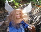 ON SALE! OOAK Hand sculpted poseable polymer clay Fairy Doll
