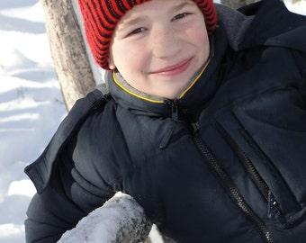 Knitting Pattern Baby Toque : Brioche hat pattern Etsy