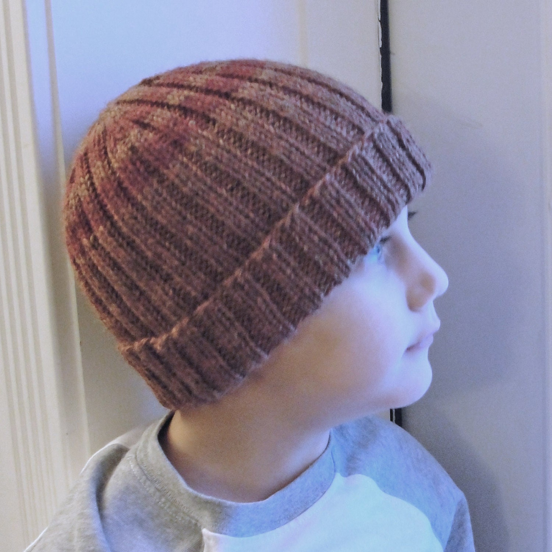Knit Hat PATTERN PDF Men's Women's Children's by mysecretwish