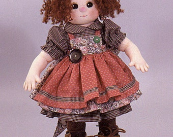 Maggie Easy to sew doll pattern from Carolee Creatios, SewSweet Dolls