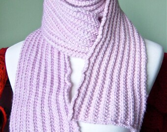 The Diana Scarf - Luxurious Hand Knit Cashmere