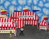 O Scale Roadside Fireworks Tent Set