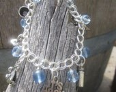It's a Boy/Girl sterling charm bracelet