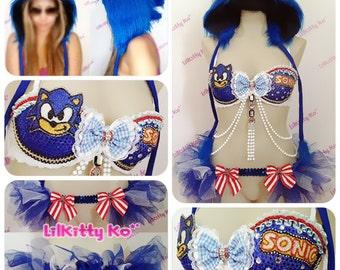 SONIC Hedgehog - Halloween Costume - Made to Order