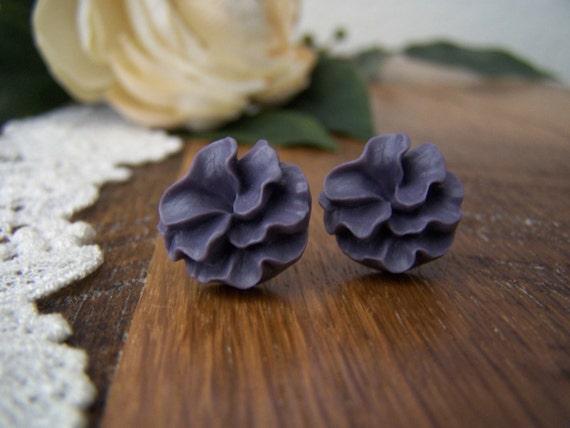 Amethyst Victoria Stud Earrings