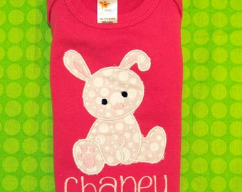 Personalized Easter Bunny Shirt or Bodysuit
