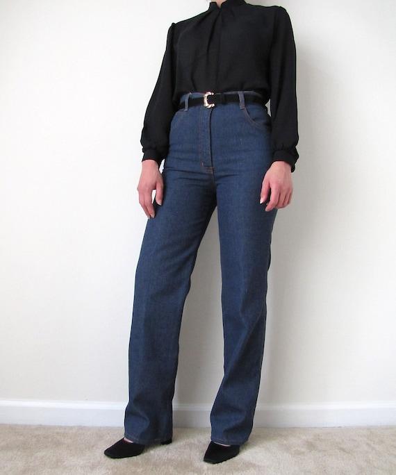 Everyday Vintage Jeans // High Waist // Women's Jeans // Medium Reserved for Jeannie Dark Wash Denim