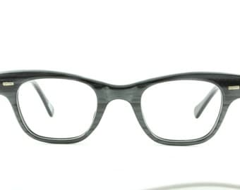 Vintage Deadstock 80's Countdown Style Blackwood Eyeglass Frames Japan - FREE Domestic Shipping