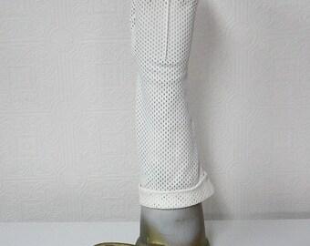 Dainty Vintage Kayser White Nylon Gloves