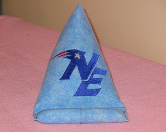 New England Patriots Embroidery  Phone Pillow
