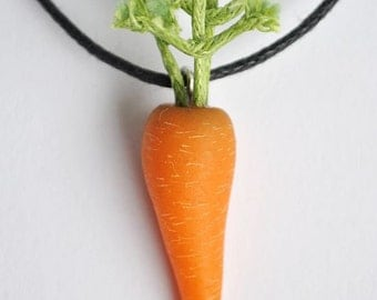 Carrot Necklace