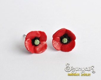 Poppy Earrings - post/stud earrings