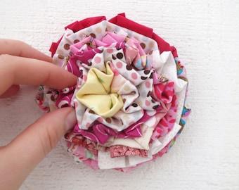 Flower Pin, Pin, Brooch