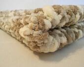 Knitted Baby Blanket - Little Sandcastle