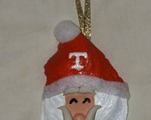 Tennessee Vols Oyster Shell Santa