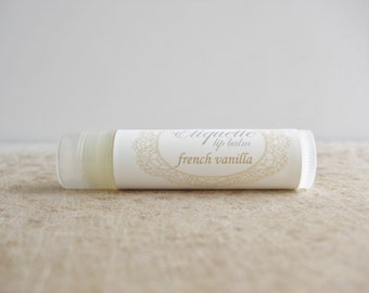 French Vanilla Lip Balm sweet lip gloss lip butter