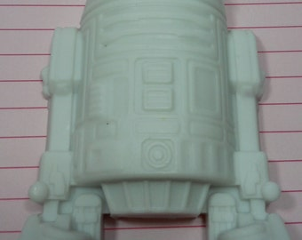 R2-D2 Vegan Soap - Orange Creamsicle Scent - Vegan Star Wars Robot Birthday