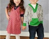 Hangout Hoodie: Hoodie Sewing Pattern, Girls Dress Pattern