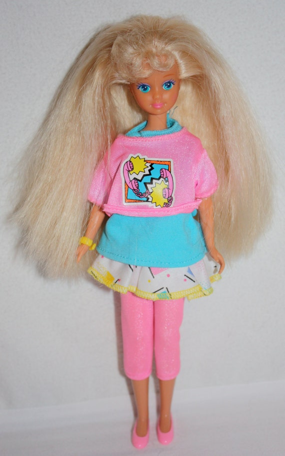Vintage 1980 S Blond Skipper Barbie Doll With Original