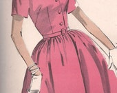 60s - Womens Daytime Dress - Vintage Sewing Pattern - Advance Sew Easy 2946 - 36 Bust