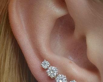 Earring Pin - Ooh La La Mini -Sterling Silver or Gold Filled