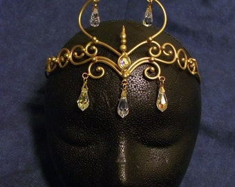 Elven circlet in Bronze
