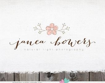 Photography Logo logo design photographer logo premade logo photographers logos premade logo design floral logo florists logo watermark