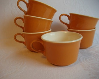 USA Retro Vintage Coffee Cup Mugs - Kitchen Decor - USA Pottery - Vintage Coffee Cups