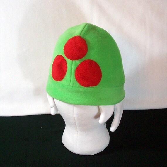 Metroid Fleece Hat - All Sizes - Custom Colors